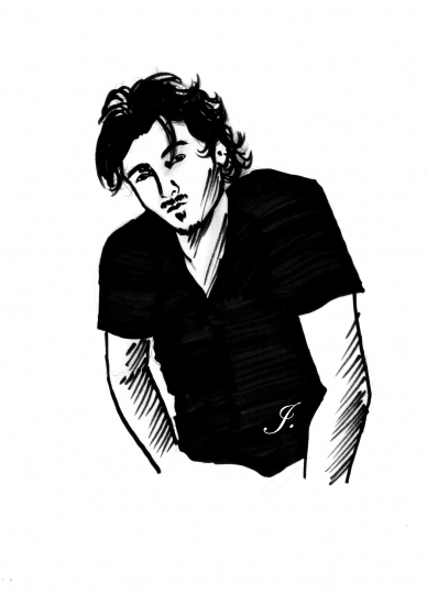 Orlando Bloom by Judy
